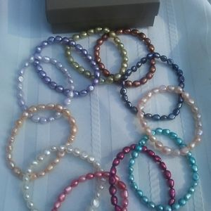 Honora Bracelet lot baroque pearl 11 piece